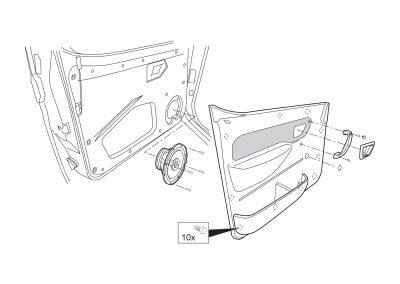 Speakerinbouw - automotive