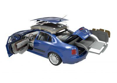 fotorealistische 3d automotive